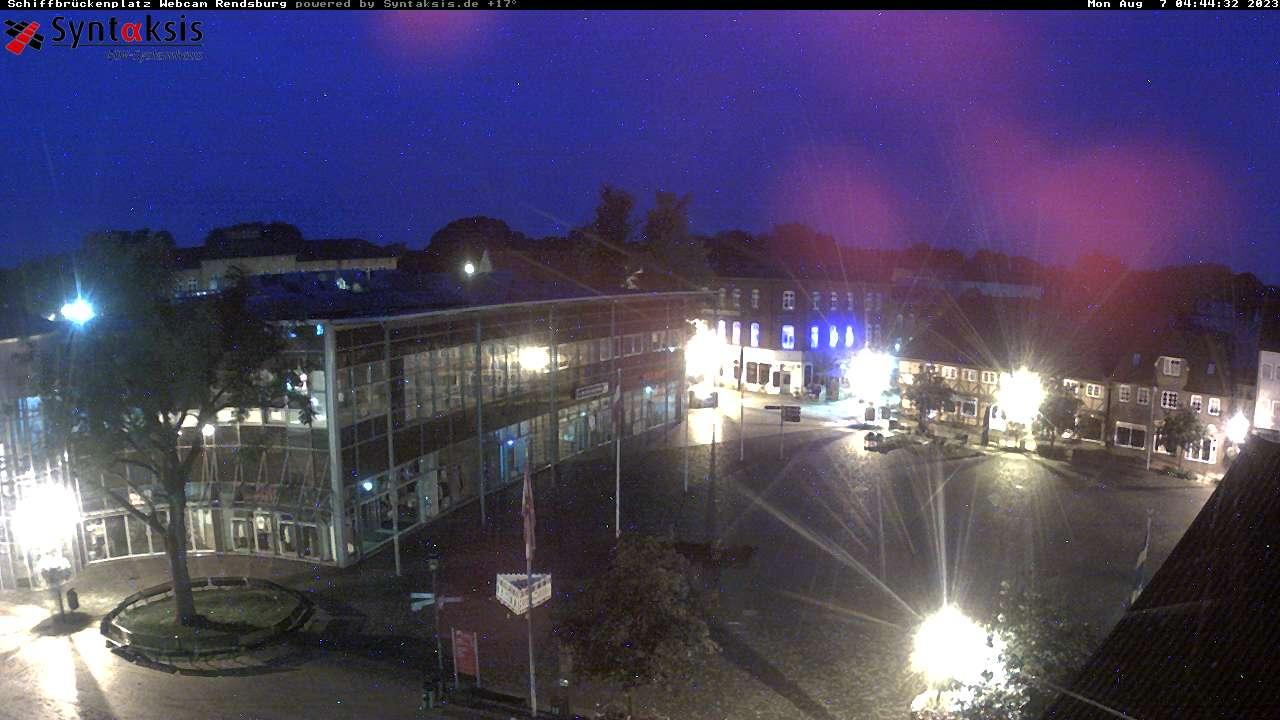 Die Rendsburger Webcam am Schiffbrückenplatz